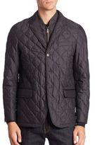 Burberry Diamond Quilt Jacket