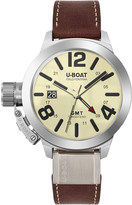 U-Boat 8051 Classico multi-coloured brown leather strap watch