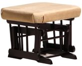 Dutailier Light Brown Microfiber Glider Ottoman