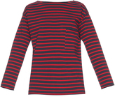 MiH Jeans Slouch striped long-sleeved T-shirt