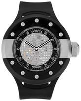 Invicta Men's 20101 S1 Rally Automatic 3 Hand Black Dial Strap Watch - Black