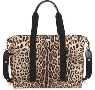 Dolce & Gabbana Natalie Nylon Diaper Bag