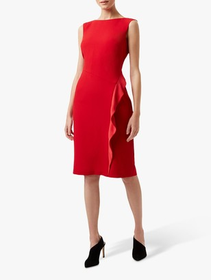 Hobbs Elida Dress, Red