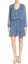 MICHAEL Michael Kors Women's Chain Neck Devonshire Paisley Dress