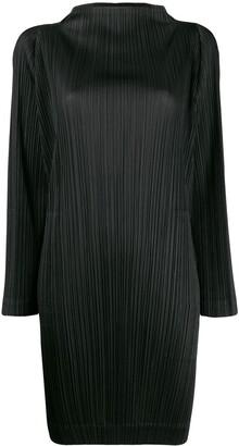 Pleats Please Issey Miyake micro-pleated dress