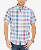 Nautica Men's Bright Plaid Shirt