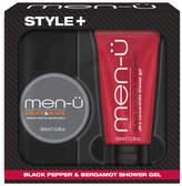 Menu men-u Style+ Black Pepper & Bergamot Shower Gel 100ml - Create & Shape