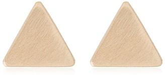 Melissa Joy Manning Triangle Stud Earrings
