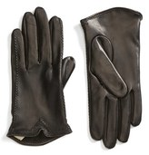 Women's Fownes Brothers Stitched Leather Gloves