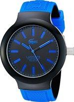 Lacoste Men's 2010815 BORNEO Analog Display Japanese Quartz Blue Watch