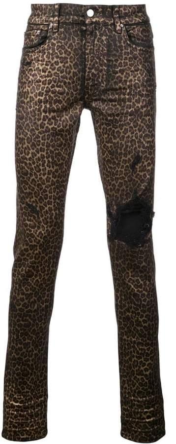 38f7735e30ee Leopard Print Jeans For Men - ShopStyle