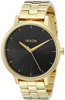 Nixon Women's A0992042 Kensington Analog Display Japanese Quartz Gold Watch