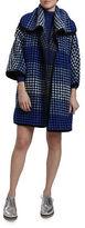Hunter Bell Ramie Knit Wool Blend Baker Coat