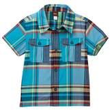 Tea Collection Flynn Plaid Short Sleeve Shirt (Toddler, Little Boys, & Big Boys)