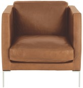 New Man NEWMAN Mid-tan leather armchair