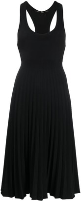 Racerback Pleated Dress