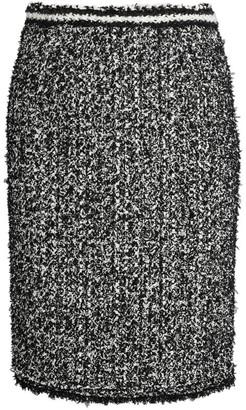 Giambattista Valli Tweed Midi Skirt