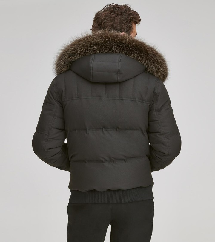 Andrew Marc BENNETT QUILTED DOWN PUFFER