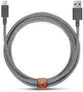 Native Union BELT extra long lightning charging cable - Zebra