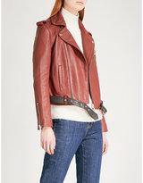 Maje Bixente leather jacket