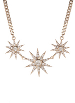 George 3 Star Necklace