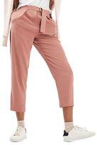 Topshop Utility Peg Trousers