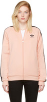 adidas Pink Superstar Track Jacket