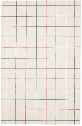 Normann Copenhagen Simple Check Set Of 2 Tea Towels