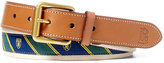 Polo Ralph Lauren Men's Tie-Overlay Webbed Belt