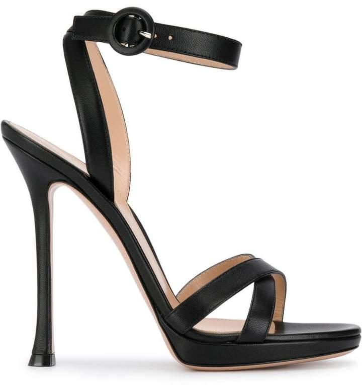 Gianvito Rossi stiletto heel sandals