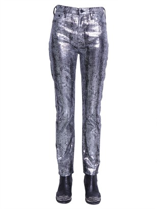 Mcq Swallow Five Pocket Jeans