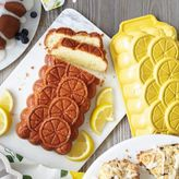 Sur La Table Nordic Ware Lemon Loaf Pan with Lemon Quickbread Mix