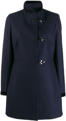 Fay high neck duffle coat