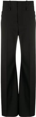 Chloé High-Rise Flared Trousers