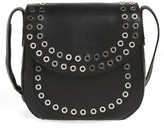Frye Cassidy Studded Leather Crossbody - Black