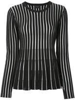 G.V.G.V. sheer striped sweater