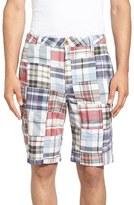 Tailor Vintage Men's Patchwork Plaid Shorts