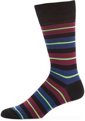 Paul Smith Men's Doggo Cotton-Blend Socks