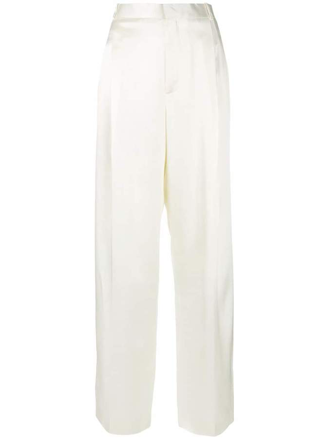 Givenchy high waisted wide leg trousers