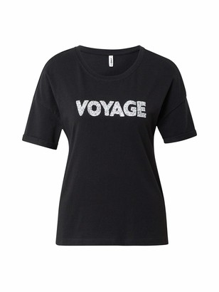 Only Women's Onlvoyage Life S/s Bling Tee JRS T-Shirt