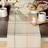Crate & Barrel Rhoda Embroidered Table Runner
