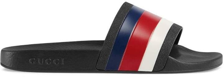 Gucci Rubber slide sandals