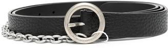 Maison Margiela Chain-Link Detail Buckle Belt