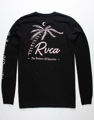 RVCA Tropicale Black Mens T-Shirt