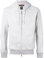 Eleventy zipped hoodie - men - Cotton - L