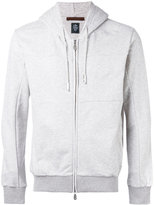 Eleventy zipped hoodie - men - Cotton - XL