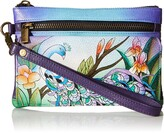 Thumbnail for your product : Anna by Anuschka Handpaint LR Wristlet Org Wlt-1738-MPK