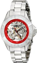 Stuhrling Original Women's 331.121156 Lifestyles Regatta Skeleton Automatic Swarovski Crystal Stainless-Steel Watch
