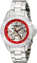Stuhrling Original Women's Lifestyles Regatta Skeleton Automatic Diamond Watch 331.121156