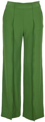 Kenzo High-Waisted Straight Leg Trousers